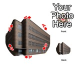 Office Building Villa Rendering Playing Cards 54 (Round)  Front - DiamondA