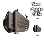 Office Building Villa Rendering Playing Cards 54 (Round)  Front - Spade6