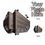 Office Building Villa Rendering Playing Cards 54 (Round)  Front - ClubA