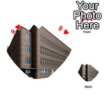 Office Building Villa Rendering Playing Cards 54 (Heart)  Front - Heart8