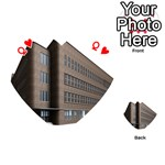 Office Building Villa Rendering Playing Cards 54 (Heart)  Front - HeartQ