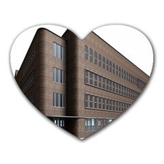 Office Building Villa Rendering Heart Mousepads