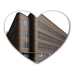 Office Building Villa Rendering Heart Mousepads Front