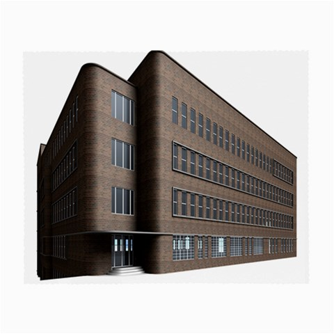 Office Building Villa Rendering Small Glasses Cloth (2-Side)