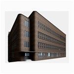 Office Building Villa Rendering Small Glasses Cloth (2-Side) Back