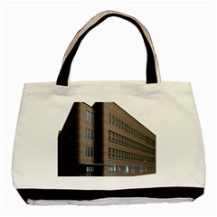 Office Building Villa Rendering Basic Tote Bag (Two Sides)