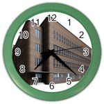 Office Building Villa Rendering Color Wall Clocks Front