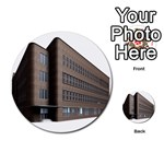 Office Building Villa Rendering Multi-purpose Cards (Round)  Front 34