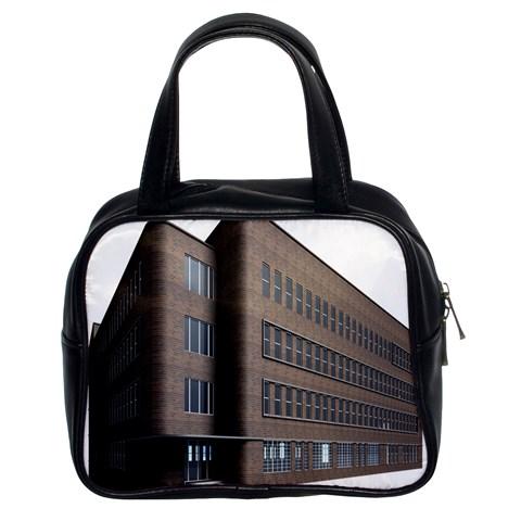 Office Building Villa Rendering Classic Handbags (2 Sides)