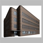 Office Building Villa Rendering Canvas 20  x 16  20  x 16  x 0.875  Stretched Canvas