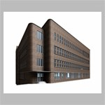 Office Building Villa Rendering Canvas 24  x 20  24  x 20  x 0.875  Stretched Canvas