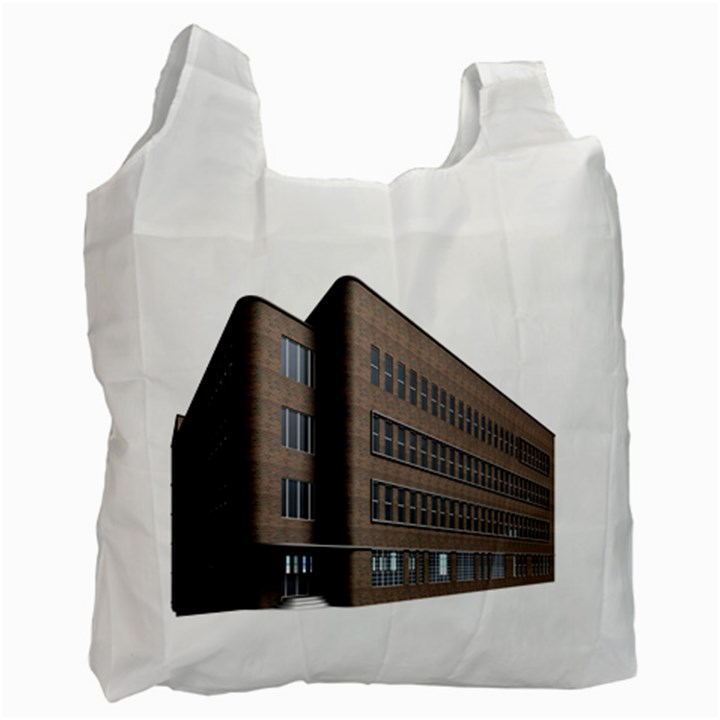 Office Building Villa Rendering Recycle Bag (One Side)