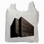 Office Building Villa Rendering Recycle Bag (Two Side)  Back