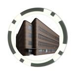 Office Building Villa Rendering Poker Chip Card Guards (10 pack)  Back