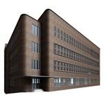 Office Building Villa Rendering Small Memo Pads 3.75 x3.75  Memopad