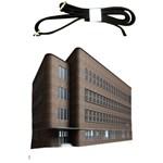 Office Building Villa Rendering Shoulder Sling Bags Front