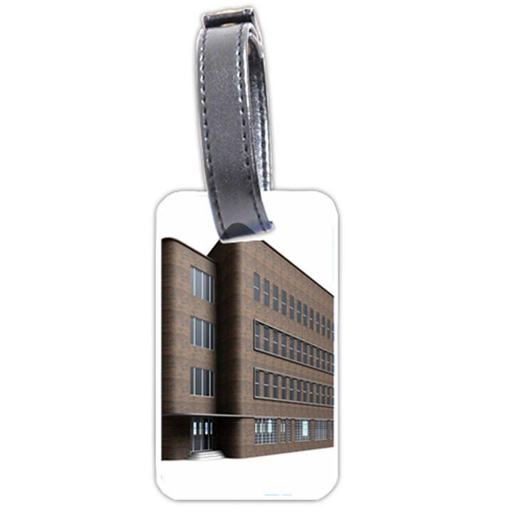 Office Building Villa Rendering Luggage Tags (Two Sides)