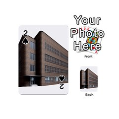 Office Building Villa Rendering Playing Cards 54 (Mini)