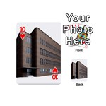 Office Building Villa Rendering Playing Cards 54 (Mini)  Front - Heart10