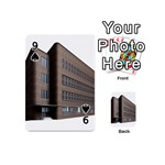 Office Building Villa Rendering Playing Cards 54 (Mini)  Front - Spade9
