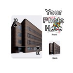 Office Building Villa Rendering Playing Cards 54 (Mini)  Front - Spade10