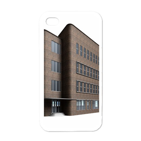 Office Building Villa Rendering Apple iPhone 4 Case (White)