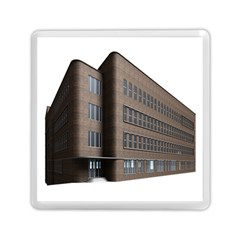 Office Building Villa Rendering Memory Card Reader (Square)