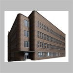 Office Building Villa Rendering Deluxe Canvas 20  x 16   20  x 16  x 1.5  Stretched Canvas