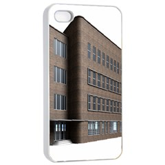 Office Building Villa Rendering Apple iPhone 4/4s Seamless Case (White)