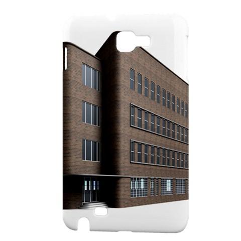 Office Building Villa Rendering Samsung Galaxy Note 1 Hardshell Case