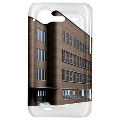 Office Building Villa Rendering HTC Incredible S Hardshell Case