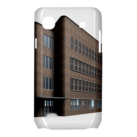 Office Building Villa Rendering Samsung Galaxy SL i9003 Hardshell Case