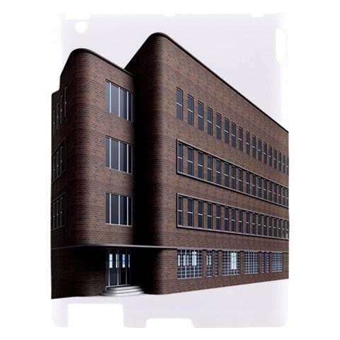 Office Building Villa Rendering Apple iPad 2 Hardshell Case