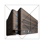 Office Building Villa Rendering Acrylic Tangram Puzzle (6  x 6 ) Front