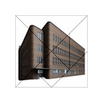 Office Building Villa Rendering Acrylic Tangram Puzzle (4  x 4 ) Front