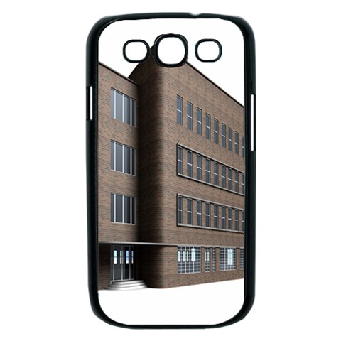 Office Building Villa Rendering Samsung Galaxy S III Case (Black)
