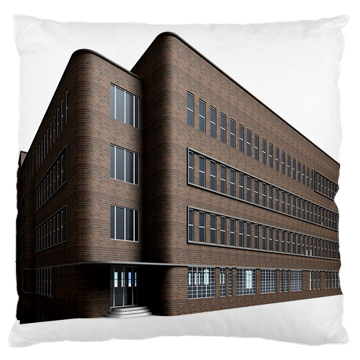 Office Building Villa Rendering Large Cushion Case (One Side)
