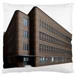 Office Building Villa Rendering Large Cushion Case (Two Sides) Back