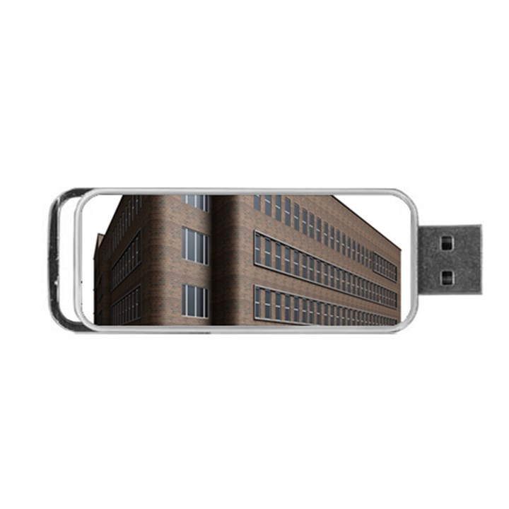 Office Building Villa Rendering Portable USB Flash (Two Sides)