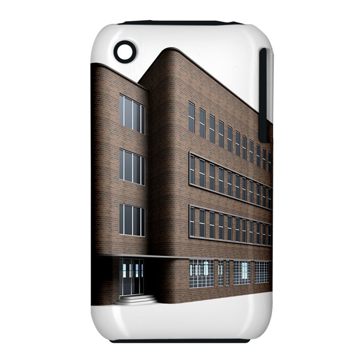 Office Building Villa Rendering Apple iPhone 3G/3GS Hardshell Case (PC+Silicone)