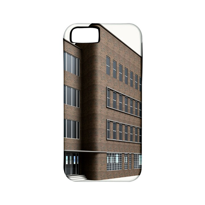 Office Building Villa Rendering Apple iPhone 5 Classic Hardshell Case (PC+Silicone)