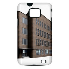 Office Building Villa Rendering Samsung Galaxy S II i9100 Hardshell Case (PC+Silicone)