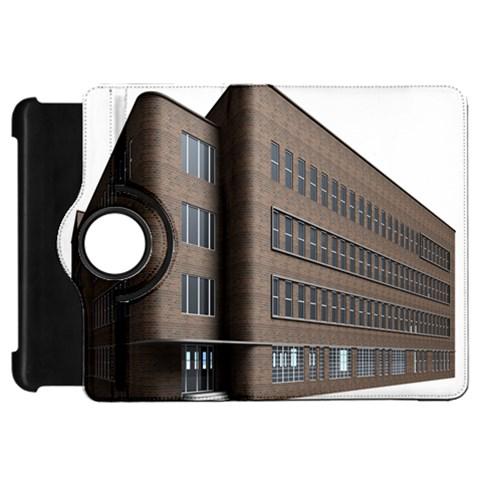 Office Building Villa Rendering Kindle Fire HD Flip 360 Case