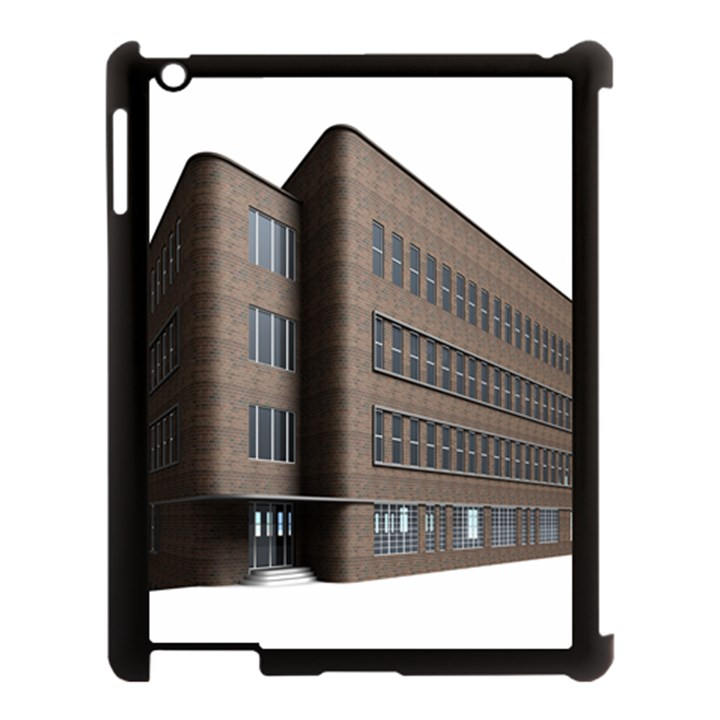Office Building Villa Rendering Apple iPad 3/4 Case (Black)