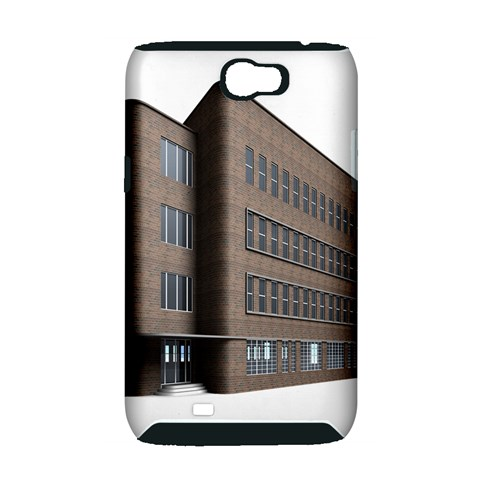 Office Building Villa Rendering Samsung Galaxy Note 2 Hardshell Case (PC+Silicone)