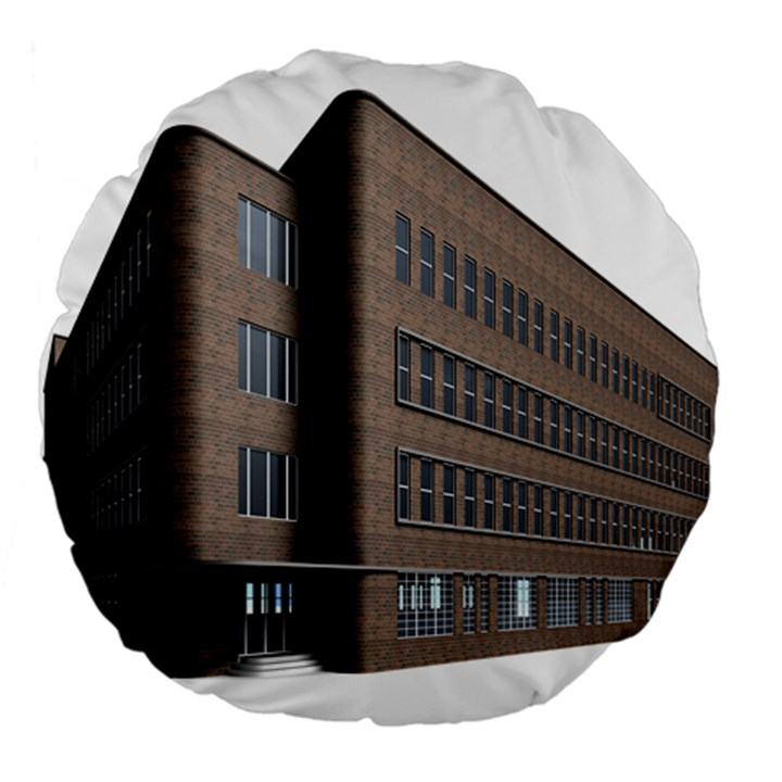 Office Building Villa Rendering Large 18  Premium Round Cushions