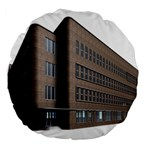 Office Building Villa Rendering Large 18  Premium Round Cushions Back