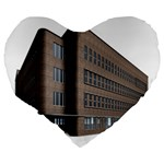 Office Building Villa Rendering Large 19  Premium Heart Shape Cushions Back