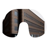 Office Building Villa Rendering Travel Neck Pillows Front