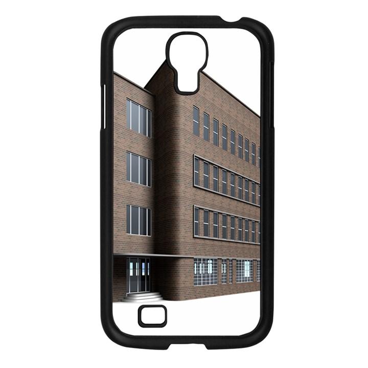 Office Building Villa Rendering Samsung Galaxy S4 I9500/ I9505 Case (Black)